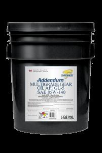 ADDENDUM MULTIGRADE GEAR OIL API GL-5 SAE 85W-140