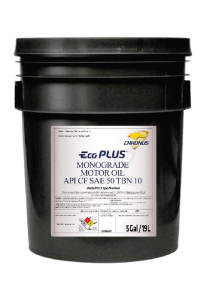 ECO PLUS MONOGRADE MOTOR OIL API CF SAE 50 TBN 10