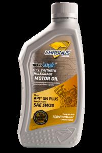 ECO LOGIC FULL SYNTHETIC MULTIGRADE MOTOR OIL API SN PLUS SAE 5W-20